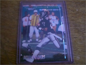 Deion Sanders Falcons 1993 Stadium Club Super Team insert card