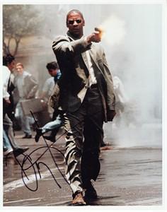 Denzel Washington autographed Man on Fire 8x10 photo