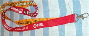 Dexter Homeland 2012 Showtime Comic-Con promo lanyard MINT