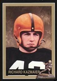 Dick Kazmaier Princeton 1951 Heisman Trophy winner card