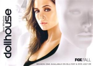 Dollhouse 2009 Comic-Con Fox 5x7 promo photo card (Eliza Dushku)