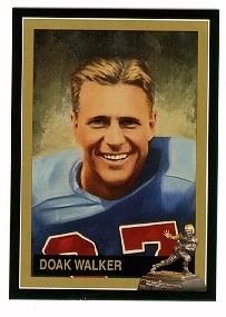 Doak Walker SMU Mustangs 1948 Heisman Trophy winner card