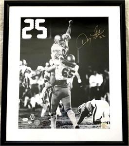 Doug Flutie & Gerard Phelan autographed Boston College 1984 Hail Mary Pass 16x20 poster size photo