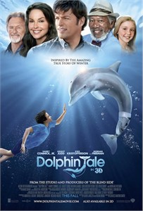 Dolphin Tale 2011 mini 11x17 movie poster
