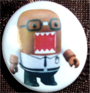 Domo 2013 Comic-Con Tokyopop promo button or pin