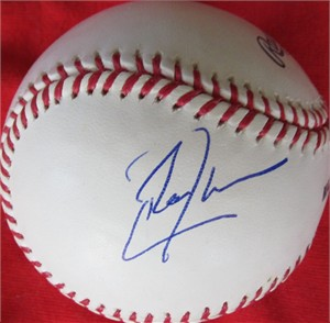 Don Cheadle autographed MLB baseball