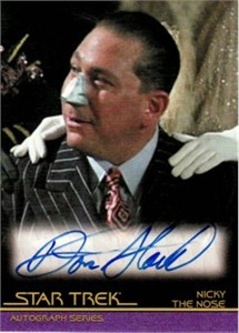 Don Stark Star Trek certified autograph card
