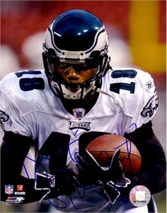 Donte Stallworth autographed Philadelphia Eagles 8x10 photo