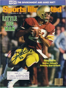 Doug Flutie autographed Boston College 1983 Sports Illustrated