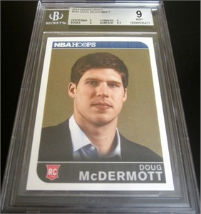 Doug McDermott 2014 Panini Hoops Summer League NBA Draft Rookie Card graded BGS 9 MINT