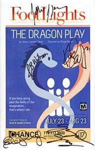 The Dragon Play cast autographed theater program (Keiko Elizabeth John Pistone)