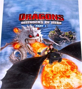 Dragons Defenders of Berk Part 1 2014 Wondercon promo poster
