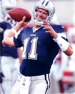 Drew Bledsoe Dallas Cowboys 8x10 photo