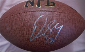 Dre Bly autographed NFL football