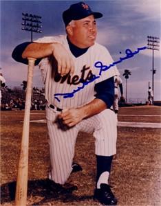 Duke Snider autographed New York Mets 8x10 photo