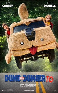 Dumb and Dumber To mini 2014 11x17 inch movie poster (Jim Carrey Jeff Daniels)