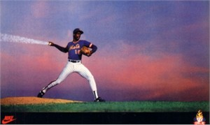 Dwight Gooden New York Mets 1985 Nike Rookie Card