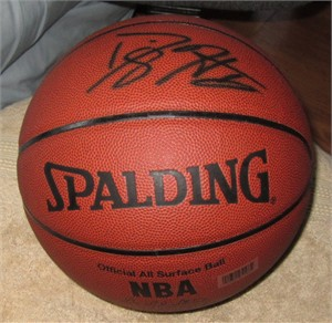 Dwight Howard autographed Spalding NBA All Surface basketball