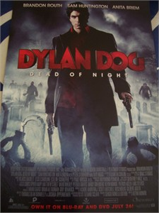 Dylan Dog movie 2011 promo poster (Brandon Routh) MINT