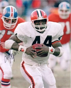 Earnest Byner autographed Cleveland Browns 8x10 photo