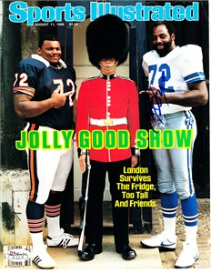 Ed (Too Tall) Jones autographed Dallas Cowboys 1986 Sports Illustrated cover (JSA)