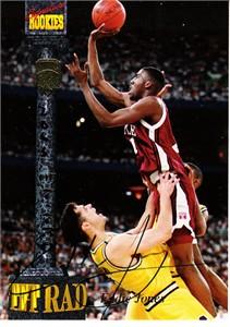 Eddie Jones certified autograph Temple Owls 1994 Signature Rookies card