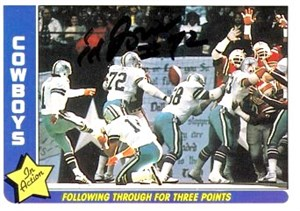 Ed (Too Tall) Jones autographed Dallas Cowboys 1979 Topps card