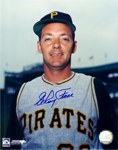 Elroy Face autographed 8x10 Pittsburgh Pirates photo