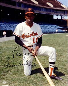 Ellie Hendricks autographed Baltimore Orioles 8x10 photo