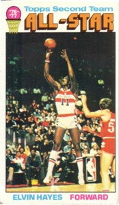 Elvin Hayes 1976-77 Topps card
