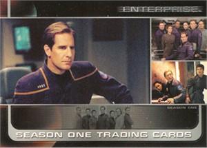 Enterprise Season One 2002 Rittenhouse promo card P1
