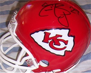 Eric Berry autographed Kansas City Chiefs mini helmet