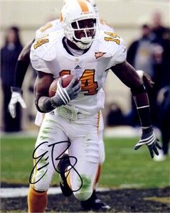 Eric Berry autographed Tennessee Volunteers 8x10 photo