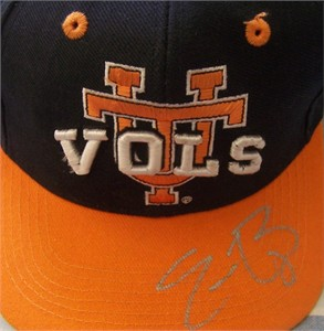 Eric Berry autographed Tennessee Volunteers cap or hat