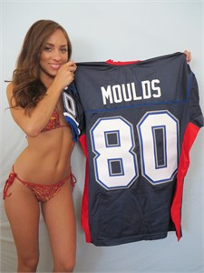 Eric Moulds 2005 Buffalo Bills authentic Reebok game model jersey