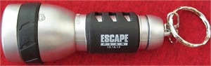 Escape Plan movie promo flashlight keychain (Arnold Schwarzenegger & Sylvester Stallone)