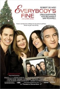 Everybody's Fine 2009 mini movie poster (Drew Barrymore Kate Beckinsale Robert De Niro)