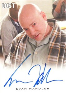 Evan Handler LOST certified autograph card