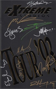 Extreme Studios Tour '93 autographed comic book (Rob Liefeld)