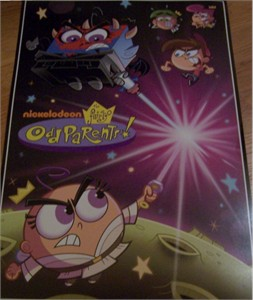 Fairly OddParents Nickelodeon 2010 Comic-Con promo poster