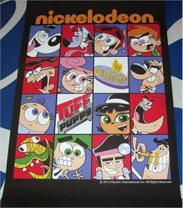 Nickelodeon Fairly OddParents & Tuff Puppy 2012 Comic-Con mini promo poster