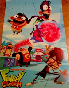 Fanboy and ChumChum 2010 Comic-Con promo poster