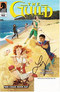 Felicia Day autographed The Guild Tink Dark Horse comic book