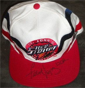 Felipe Lopez autographed St. John's Red Storm cap or hat