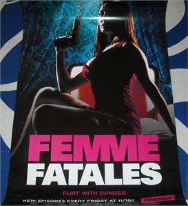Femme Fatales 2012 Comic-Con Cinemax mini 11x17 promo poster