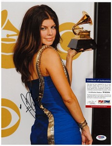 Fergie autographed Grammy Awards 11x14 photo (PSA/DNA)