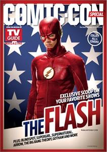 The Flash 2016 Comic-Con TV Guide magazine (Grant Gustin)