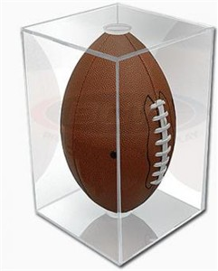 Football display case holder