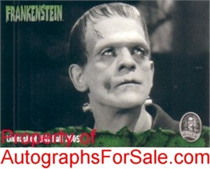 Frankenstein 2005 ArtBox promo card 02