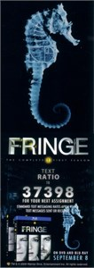 Fringe 2009 Comic-Con promo card set (2)